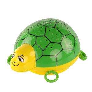 ANSMANN Sternenlicht Schildkröte LED Sternenhimmel-Projektor Nachtlicht Lampe Einschlafhilfe für Baby/Kinder/Erwachsene